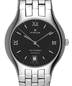 Edox Les Combes Men's Automatic Movement Swiss Made Watch 80036/S2