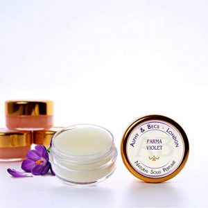 1pc - Natural Solid Perfume for Women - Parma Violet - in a Pot - 10 ml