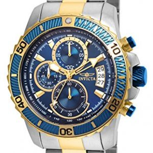 Invicta 22415 Pro Diver - Scuba Men's Wrist Watch Stainless Steel Quartz Blue Dial