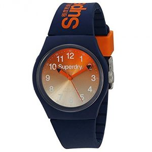 Superdry Men's Analogue Quartz Watch with Silicone Strap - SYG198UO