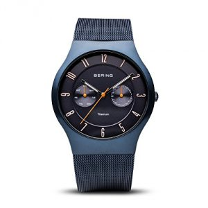BERING Mens Analogue Quartz Watch with Stainless Steel Strap 11939-393