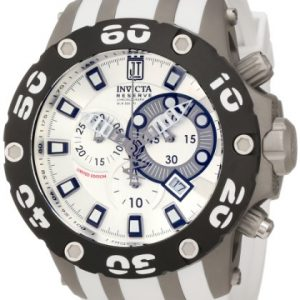 LIMITED EDITION Jason Taylor Reserve Venom Chronograph Silver Dial Rubber Strap Date Display