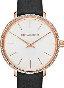 Michael Kors Womens Analogue Quartz Watch with Leather Strap MK2835