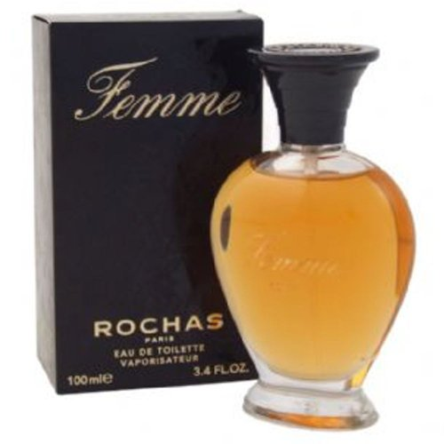 Rochas FEMME Eau De Toilette Perfume 100ml (3.3 Oz) Spray