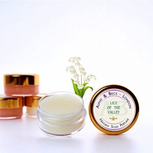 1pc - Natural Solid Perfume for Women - Lily Of The Valley - in a Pot - 10 ml